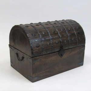 Aberdeen Nested Pirate Chest Set, Adorned and Antiqued Precious Handiwork Brand IOTC