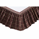 Abilene Star Twin Bed Skirt 39x76x16 - 19984 by VHC Brands