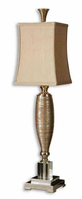 Abriella Gold Buffet Lamp in Metallic Gold Finish Brand Uttermost
