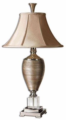 Abriella Table Lamp with Textured Design in Gold Brand Uttermost
