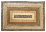 Abstract and Artistic Kettle Grove Jute Rug Rect by VHC Brands