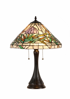 Abstract Patterned Attrcative Table Lamp by Chloe Lighting