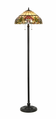 Abstract Patterned Fascinating Floor Lamp by Chloe Lighting