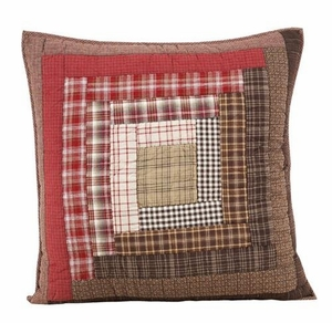 Abstractly Artistic Tacoma Euro Sham Quilted by VHC Brands