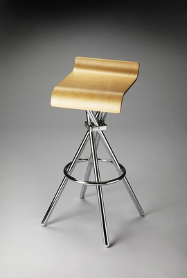 Acutely Lovely Kalla Modern Bar Stool by Butler Specialty