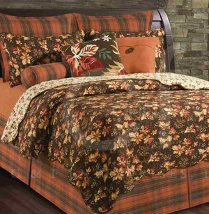 Adirondacks Dust Ruffle King 78x80+ 18 Inches Drop Brand C&F