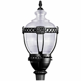 Adorable 1 Light Street Light series in Black by Yosemite Home Decor
