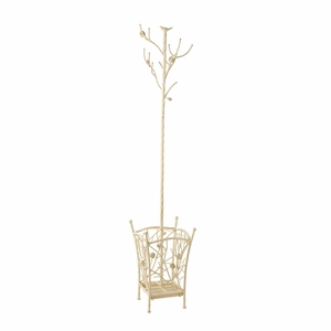 Adorable Bird and Branch French Vanilla Hall Tree by Southern Enterprises