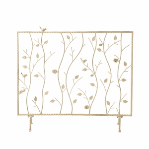 Adorable Bird and Branch Themed French Style Fireplace Screen by Southern Enterprises
