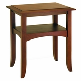 Adorable Craftsman End Table by Winsome Woods