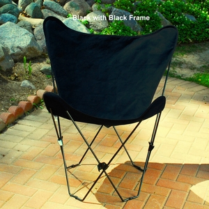 Adorable Foldable Butterfly Steel Framed Chair by Alogma