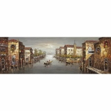 Adorable Masterpiece of a Canal in Venice I by Yosemite Home Decor
