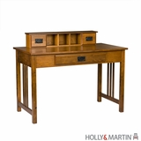 Adorable Sebastian Wooden Desk with Hutch and Drawers by Southern Enterprises