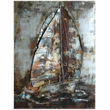 Adorable Styled Classy Styled Sailor's Way Painting by Yosemite Home Decor