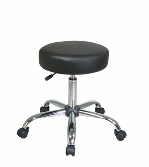 Adorably Styled Pneumatic Drafting Backless stool by Office Star