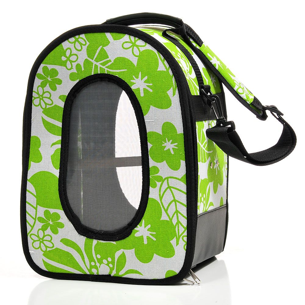 AEC-HB1506L-Green Large Soft Sided Travel Carrier by A and E Cage