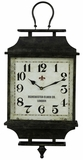 Aged Dark Finish Stylish Kimmel Clock by Cooper Classics