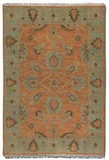 Akbar 8' Rug with Egyptian Blue Details and Taupe Accents Brand Uttermost