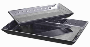 Alanna Style Tray Set With Polished Beveled Mirrors Brand Uttermost