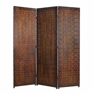 Albata Screen Crafted with Goldish Brown Metallic Finish Brand Screen Gem