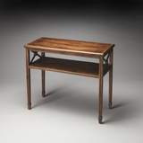 "Alcott Dark Toffee Console Table 34""W by Butler Specialty"
