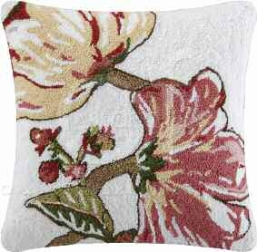 Alessandra Hooked Pillow 18 x18 Inches Brand C&F