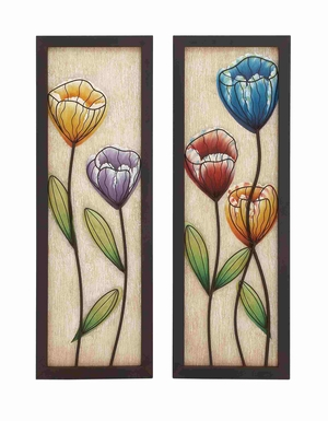 Alicia Blossomed Colorful Wall d�cor Brand Benzara