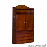 Alluring Holly & Martin Evangeline Wall-Mount Jewelry Armoire by Southern Enterprises