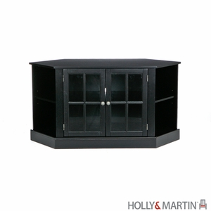 Alluring Holly & Martin Parkridge Corner Media Stand by Southern Enterprises