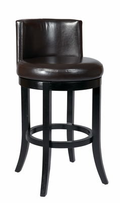 Alluring Piece of Wooden Metro Swivel Barstool by Office Star