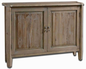 Altair Reclaimed Wood Cabinet With Weathered Glazed Fir Wood Brand Uttermost