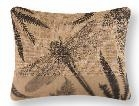 Althea Burlap Dragonfly Pillow 14 x18 Inches Brand C&F