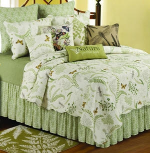 Althea Dust Ruffle King 78x80+ 18 Inches Drop Brand C&F