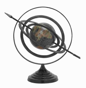 Aluminium Globe with Beautiful Stable Design & Stable Base Brand Woodland