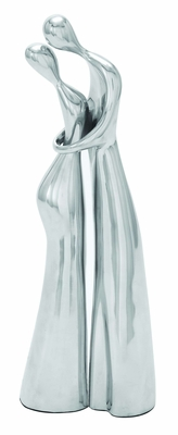 Aluminum Metal Dancing Sculpture with contemporary Style - Set of 2 Brand Woodland