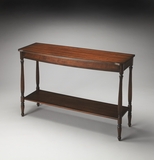 Amazing Bennett Plantation Cherry Console Table by Butler Specialty