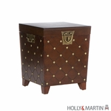 Amazing & Classic Holly and Martin Caldwell Trunk End Table by Southern Enterprises