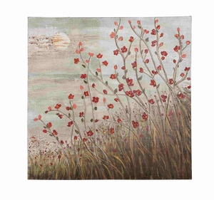 Floral Themed Beautiful Canvas Wall Art - 92710 by Benzara