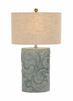 Amazing Styled Classy Ceramic Table Lamp by Woodland Import