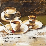 Amazing Styled Coffee Cafe I Adorable Painting by Yosemite Home Decor