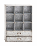 Amazing Styled Decorative Metal Storage Shelf by Woodland Import