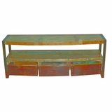 Amazing styled Media Console Table by Yosemite Home Decor