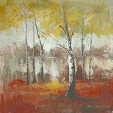 Amazingly Painted Autumn Mist by Yosemite Home Decor