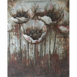 Amazingly Styled Field of Flowers Classy Painting by Yosemite Home Decor