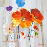 Amazingly Styled Primary Floral I Classy Painting by Yosemite Home Decor