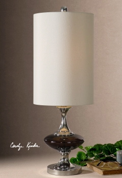 Amberetta Buffet Lamp Looks Like A Decorative Sculpture Brand Uttermost