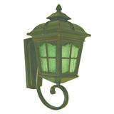 Amelia Collection Stunning 1 Light Small Size Exterior Lighting in Oil Rubbed Bronze by Yosemite Home Decor