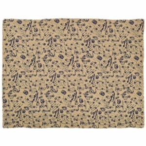 American Burlap Table Cloth 60x80 - 25882 by VHC Brands