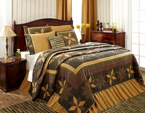 "Amherst Bedskirt Queen 60"" x 80"" x 16"" by VHC Brands"