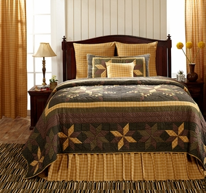"Amherst Luxury Sham Quilted 21"" x 37"" by VHC Brands"
